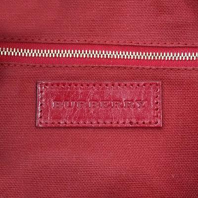 color detail check tote bag